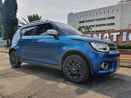 Suzuki Ignis GX AT Matic Biru NIK 2017 KM 10ribu Istimewa