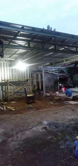 Atap baja ringan dan pemasangan