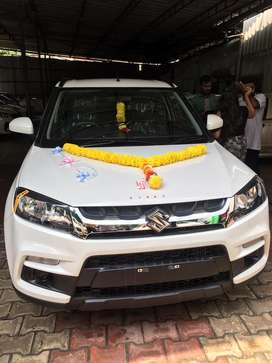 Vitara brezza on rent