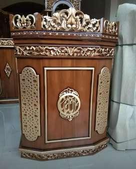 MIMBAR MASJID UKIRAN @mrjati_furniture 93l2bb