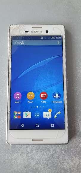 Sony M4 (2-16)gb 4g Touch Lite Creak working good condition