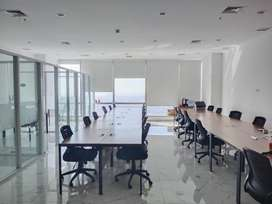 Sewa Office Harga Murah Soho Capital Semi furnish Luas 136sqm, jakarta