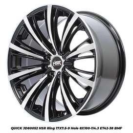 Velg Mobil Mazda 2, Matrix, Livina dll Ring 17 HSR QUICK