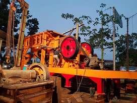 Stone crusher mobile plant 80-100TPH