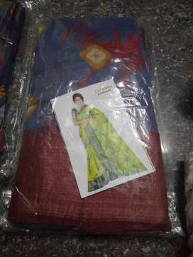 Zareena cotton saree good looking this saree good offere