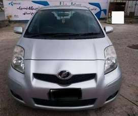 TOYOTA VITZ manual 2010 .. on easy Installment .