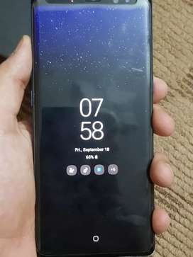 SAMSUNG GALAXY NOTE 8 BLUE COLOUR (BOX&CHARGER)