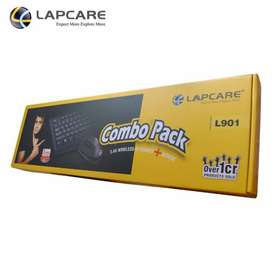 LAPCARE Wireless Keyboard n Mouse Combo / 3 Years Warranty