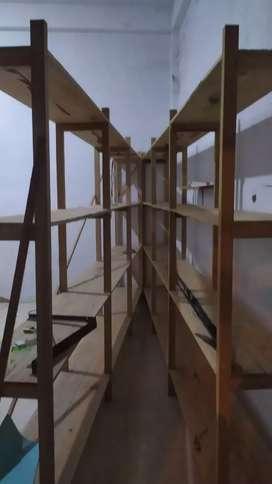 2 buah Rak jualan tinggi 2 meter panjang 4 meter