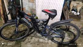 Firefox 21 Gear cycle with disc brake, Mount bicycle