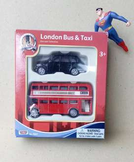 diecast bus tingkat london bus