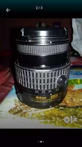 nikon 18-55 vr II lens.