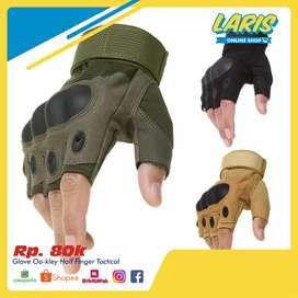 Glove Oa-kley Half Finger Pendek Sarung Tangan Tactical