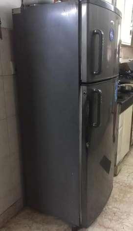 Whirlpool 250l double door fridge for sale