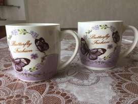 Coffee mug set of 2