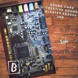 SOUND CARD Creative Sound Blaster SB0090 2nd