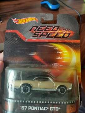 Hotwheels NEED FOR SPEED '67 PONTIAC GTO