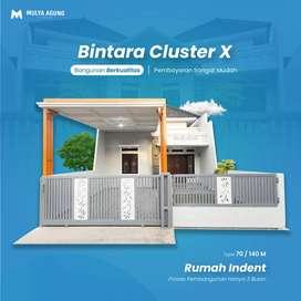 Rumah Elegant Konsep Modern Bintara Cluster 10