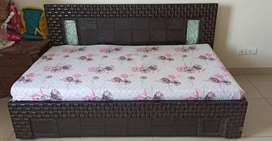 Single Bed - Extendable to King Size Double Bed (With Mattress)