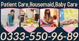 WELL DONE=BABYSITTER & patient care/Housemaid available 24/7