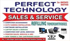 Computer  and printer service
