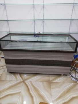 Showcase cash counter table for shop