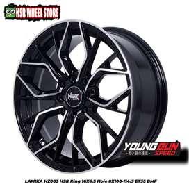 HSR Wheel velg ring 16 Brio sigra Vios Ignis Avanza Xenia Freed Mazda2