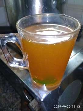 Tea shop and juice
