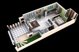 At Valsad - Book 3BHK Semi Furnished Row House in just 25 lacs