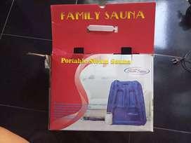 Alat Steam/Sauna Portable merk Family Sauna