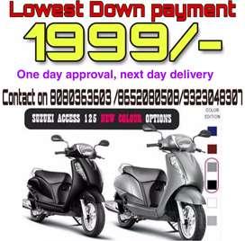 Suzuki Access 125 on EMI available