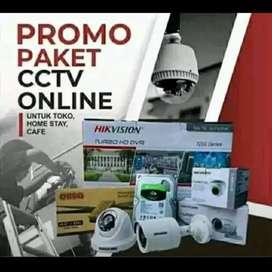 Jual plus pasang camera cctv/ free instalasi