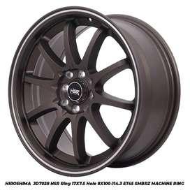 Velg Mobil Ring 17 HSR untuk Avanza, Nissan March dll