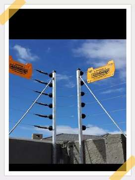 Electric fencing Complete installation
