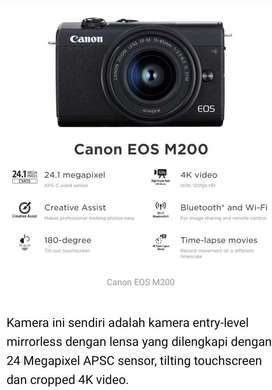 CANON MIROLESS M200 KIT 15-45 IS STM