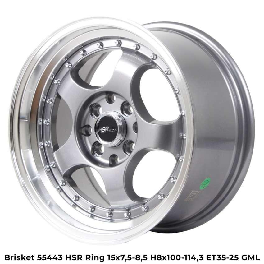 velg brisket 55443 hsr ring 15 warna grey polish 0