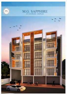 2 bhk flats and shops for sale in khorlim mapusa goa