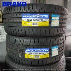 Ban Mobil ring 19 tubles ACCELERA PHI 215 35 R19 Bukan Dunlop Aciles