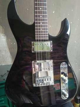 Gitar listrik vintage yamaha antik bin kece japan tua rekondisi zaman