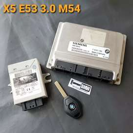 ECU set EWS3 transponder BMW X5 E53 3.0 M54 thn 01-05