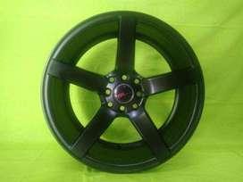 model velg racing murah JD265 HSR R17X75 H8X100-114,3 ET35 SMB