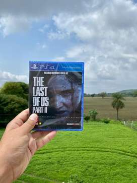 PS4 game THE LAST OF US OART 2 CD