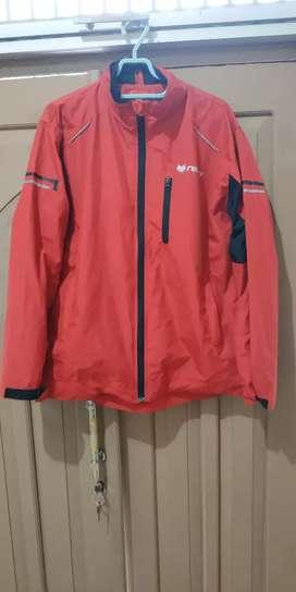 Jaket riding, harian turing redfox merah nyaman adem water reppelent
