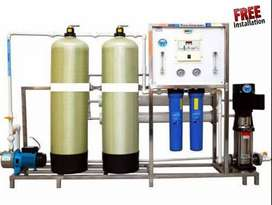 Reverse osmosis (ro water plants)used to produce highly purified water