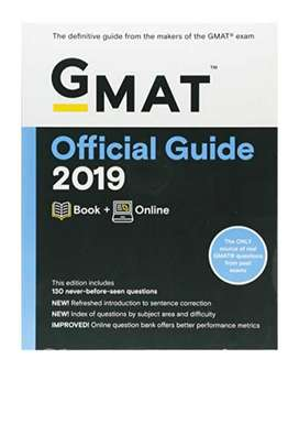 The Official Guide for GMAT Review 2019