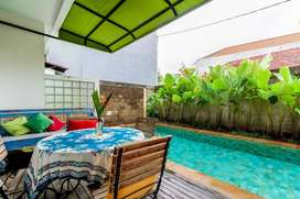 Three Bedroom Pool Villa 200/170/4M Umalas Kuta Bali