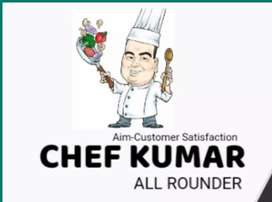 I AM A ALL ROUNDER CHEF,MASTER CHEF TASTE CREATER ALL ROUNDER CHEF