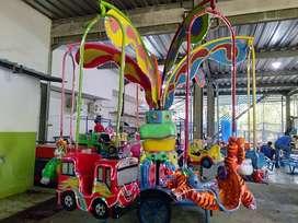 mainan kereta komedi putar safari odong wahana pasar malam TERBARU RAM