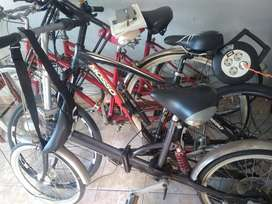 4 sepeda cuci gudang