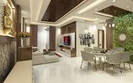 Full furnished 2 BHK Flat, 950 sqft, shankar nagar raipur